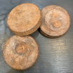 Old Indian cast iron weight