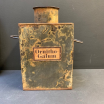 Old herbalist tin box