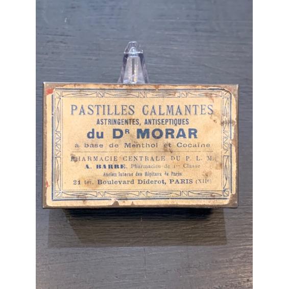 Boîte de pastilles Menthol-Cocaïne (Dr MORAR)
