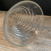 Antique glass perfumed funnel