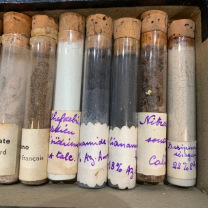 """Chemical library"": Fertilizer sample test tube"