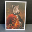 Carte Postale Anthropomorphique de John Byron