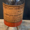 Cascara Sagrada: ancien flacon de pharmacie (laxatif)