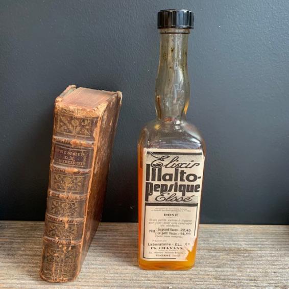 Elixir Malto-pepsique Elssé: Remède ancien de charlatan