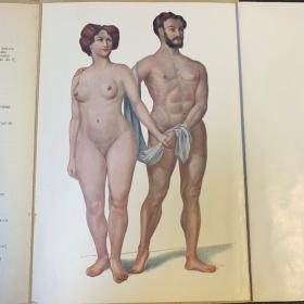 Atlas anatomique: L'homme et la femme: Livret d'anatomie avec planches démontables