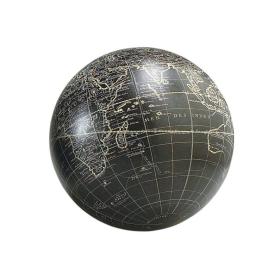Petit globe terrestre Vaugondy Noir - 14cm / GL211