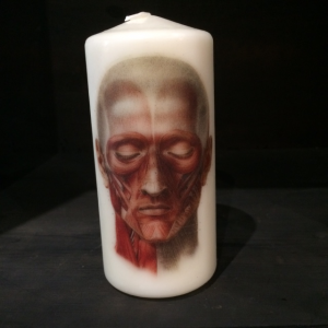 Face Head Candle