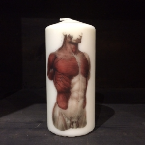 Bust Candle