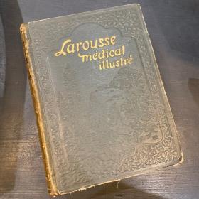 LAROUSSE MEDICAL 1920 edition