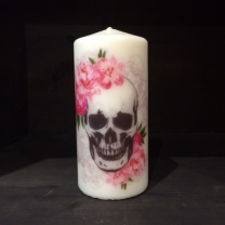 Flower candle n°2