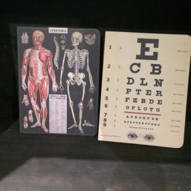 Notebook Affiche Vintage Sciences