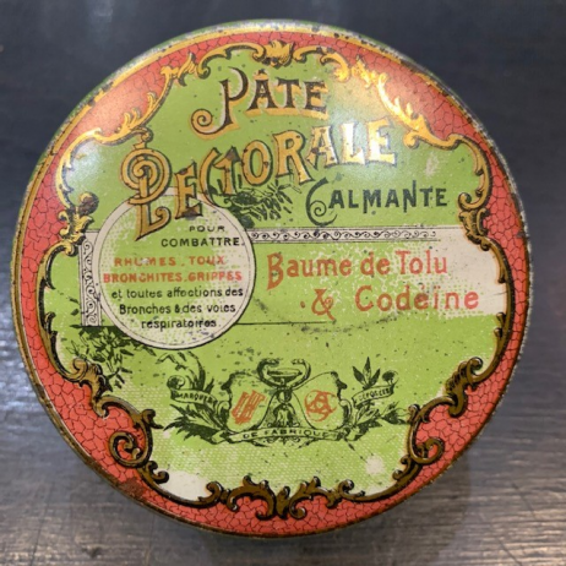 Baume au Tolu et Codéïne (Pâte pectorale )