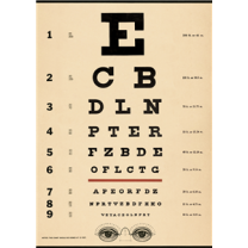 Vintage poster Ophtalmology