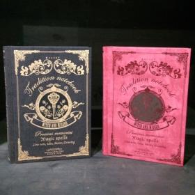 Magic Notebook Noir
