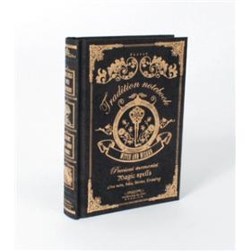 Magic Notebook Noir - Carnet - Livre de sorts - Grimoire