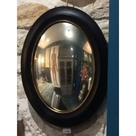Miroir sorcière bombé XIXème 50cm