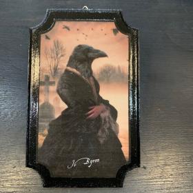 Anthropomorphic Medallion by John Byron - The Widow
