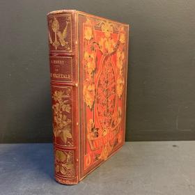 """""""La vie végétale"""" Old book - 1878 by Emery - Herbal book"""
