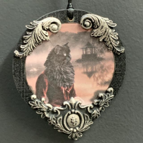 Anthropomorphic Medallion by John Byron - The Romantic