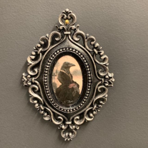 Victorian Medallion by John Byron - The WIdow