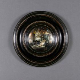 Round Witch Mirror