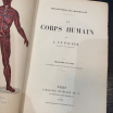 "XIXth old book: ""Le Corps Humain"" 1869"