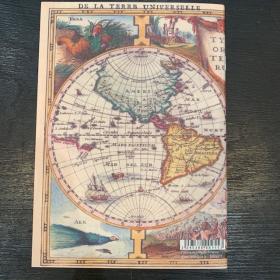 Cahier à dessin A5: Mappemonde ancienne - Notebook