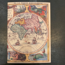 Sketch book - World map
