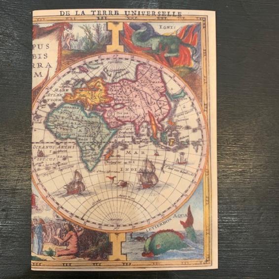 Sketch book - World map