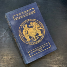 Bibliothèque des Merveilles - Hachette : Eclairs et Tonnerre - 1869