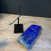 Lapis-Lazuli from Afghanistan on pedestal (Ref F)