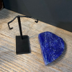Lapis-Lazuli from Afghanistan on pedestal (Ref E)