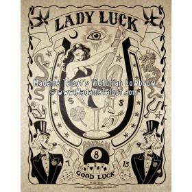 Lady Luck Parchment