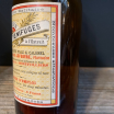 Vermifuge Capsules: tapeworm expusion - Old pharmacy bottle