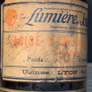 camphorated alcohol - Old pharmacy bottle