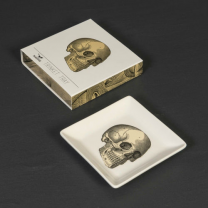 CURIOS - TRAY - EMPTY POCKET SKULL
