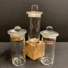 Bocal ancien pour préservation fluide - Musée histoire naturelle