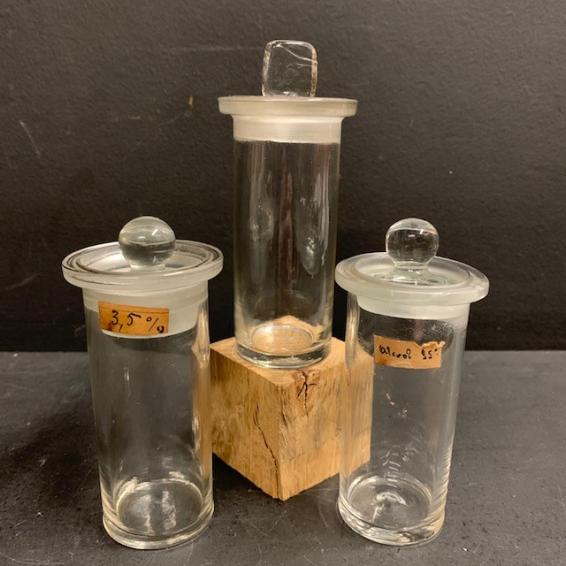 Bocal ancien - Flacon de pharmacie / Laboratoire