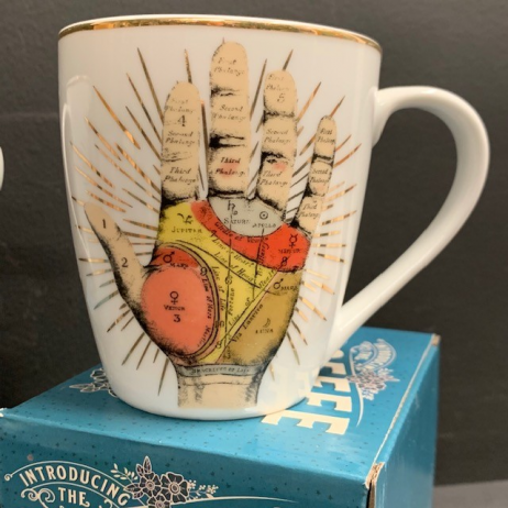 Palmistry Box Candle