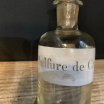 Sulfure de Carbone: Old bottle with emery cap