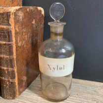 Xylol: Old bottle with emery cap