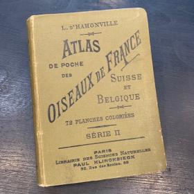 Atlas de poche: Oiseaux De France Suisse et Belgique - 1898