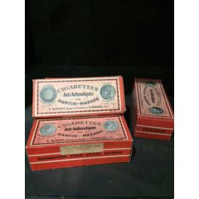 Boîte de Cigarettes anti-asthmatiques
