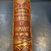 "The Universe and Humanity - by H.Kraemer - ""Art Nouveau"" cover"