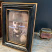Haunted frame: Uncle Jed (black rectangle)
