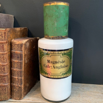English charred magnesia - Pharmacy flask - End of the 19th century