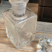 Old glass bottle - Perfumery - L