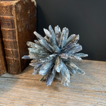 Kyanite crystals ball