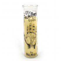 Palmistry Candle Pot