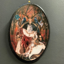 Anthropomorphic Medallion by John Byron - Walkyrie